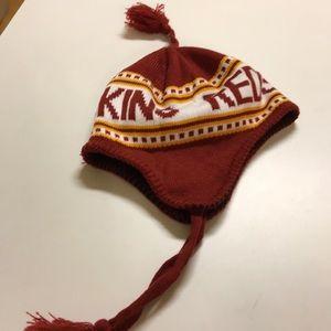 Red skins hat